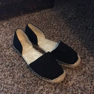 The gap slip on shoes